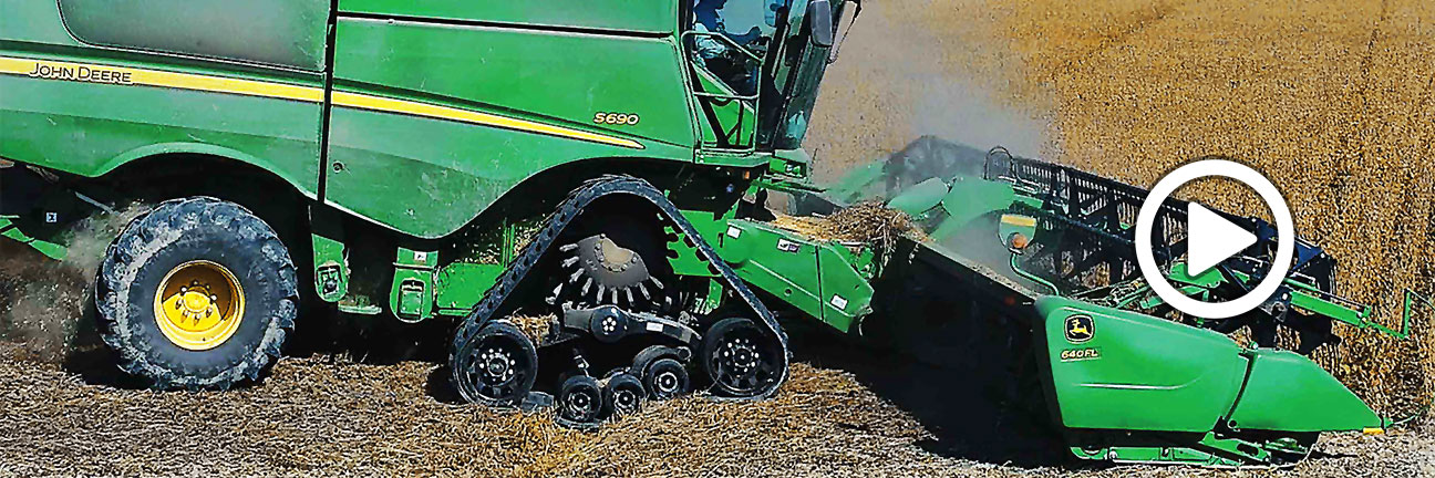 ATI - Rubber Tracks for Combines | Four Wheel Drive Tractor